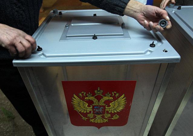 俄中选委:2014年来约250人因有前科而复权期限未到未能参选