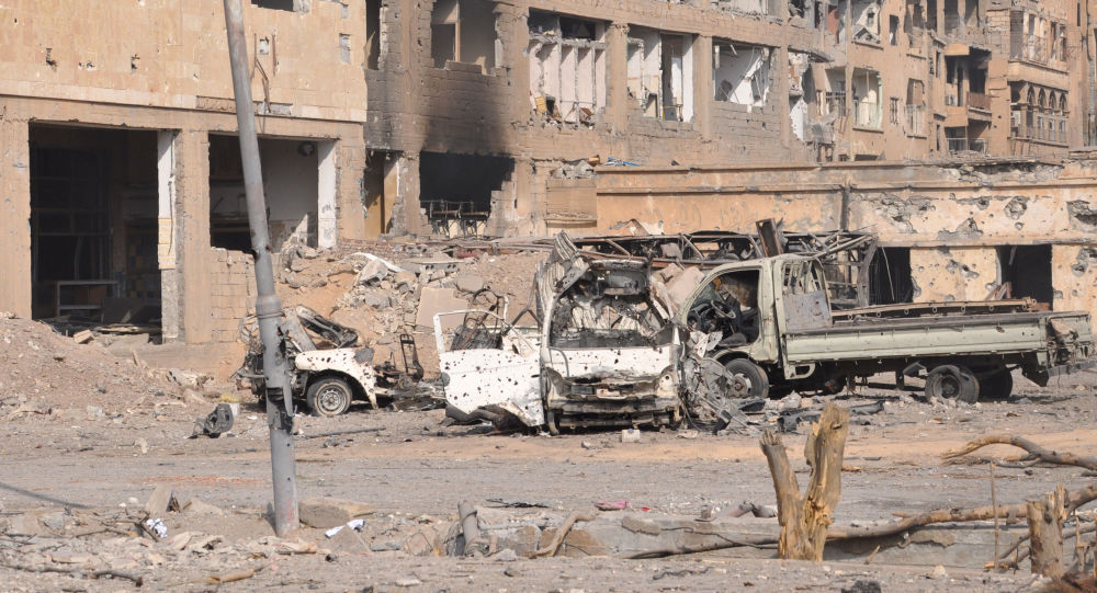 联军对叙利亚村庄的空袭造成10名平民死亡