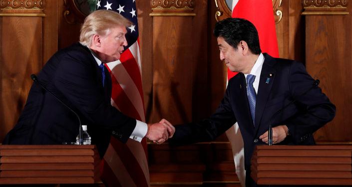 特朗普:美国计划简化向日本和其他盟国销售武器的程序