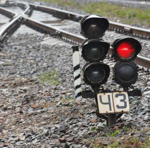 俄出口中心集裝箱列車從烏法啓程前往中國