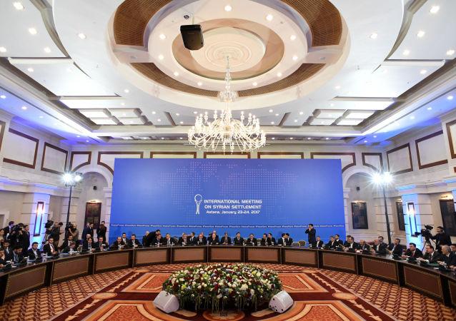 消息人士:叙政府代表团将参加第九轮叙问题阿斯塔纳和谈