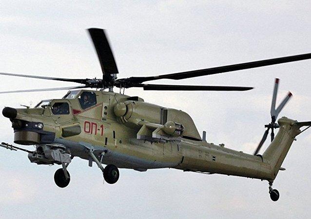 俄空天军收编首批米-28UB新型直升机