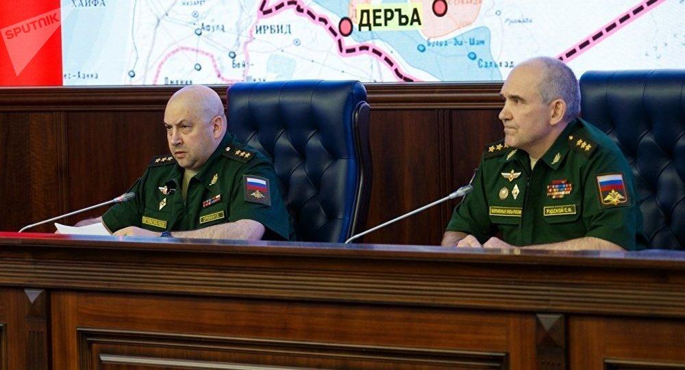 俄駐敘利亞部隊指揮官謝爾蓋·蘇羅維金