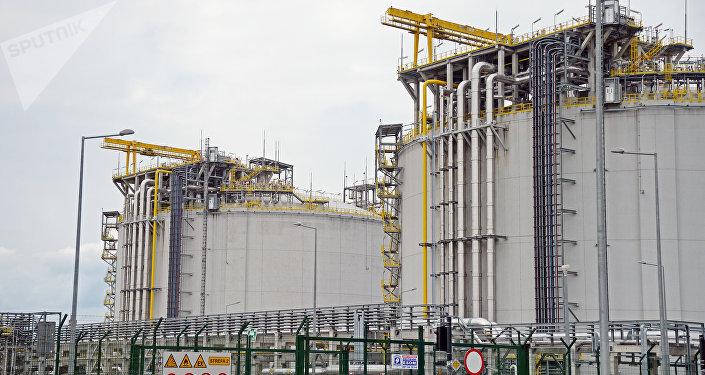 液化天然气再气化终端
