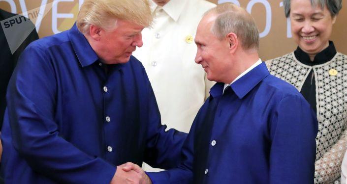 特朗普:可能很快和普京会面