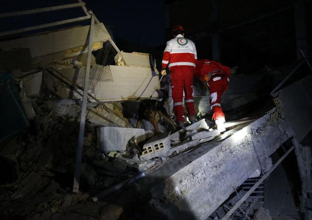 伊朗与伊拉克边境地区发生6.3级地震