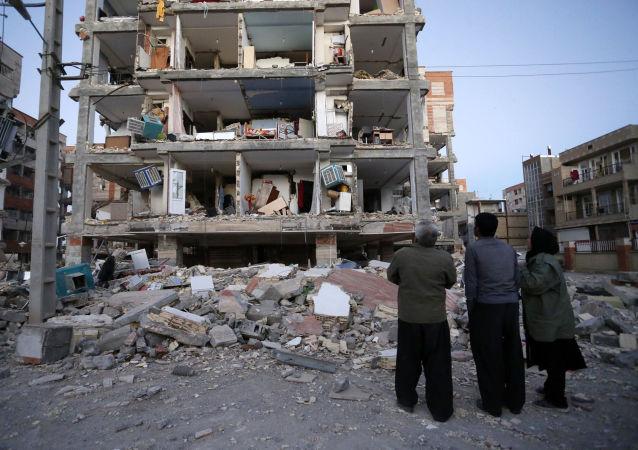 伊拉克專家在兩伊邊境地區地震後記錄到百次餘震