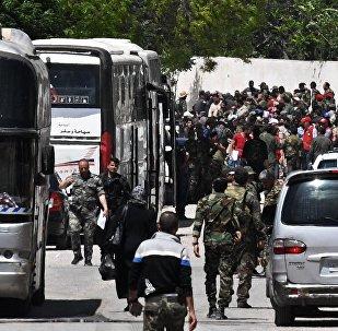 阿勒頗省北部20余名IS武裝分子向敘政府投降