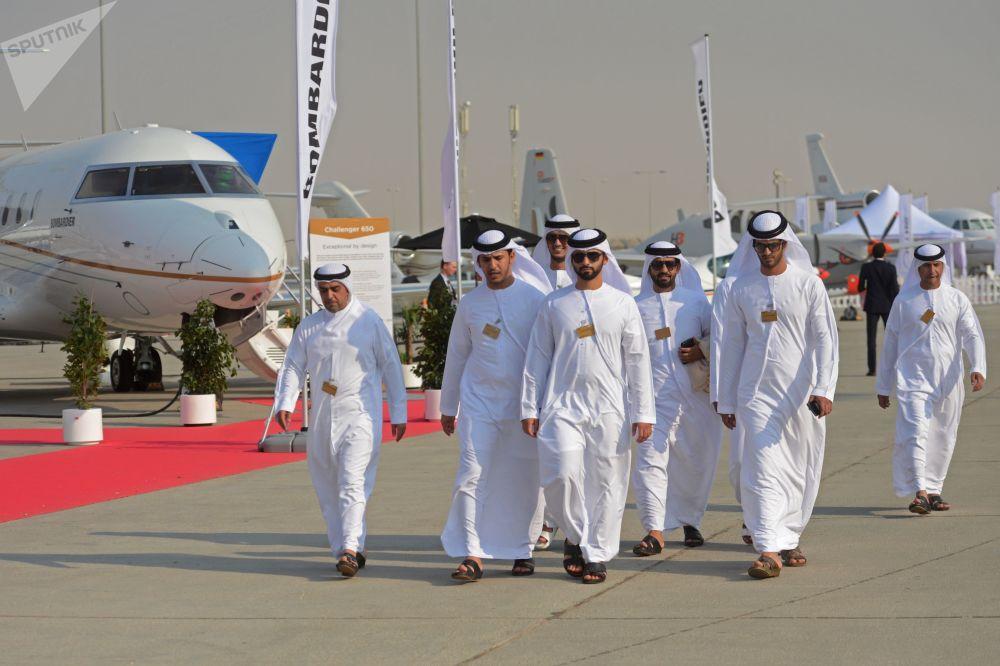 2017年迪拜航展观众