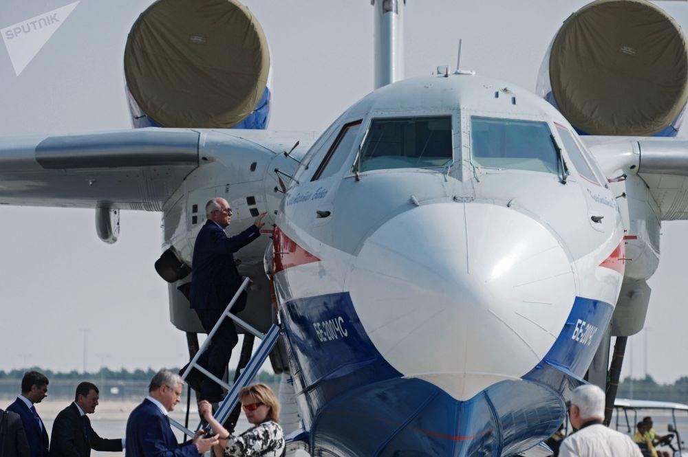 俄罗斯别-200ChS两栖飞机