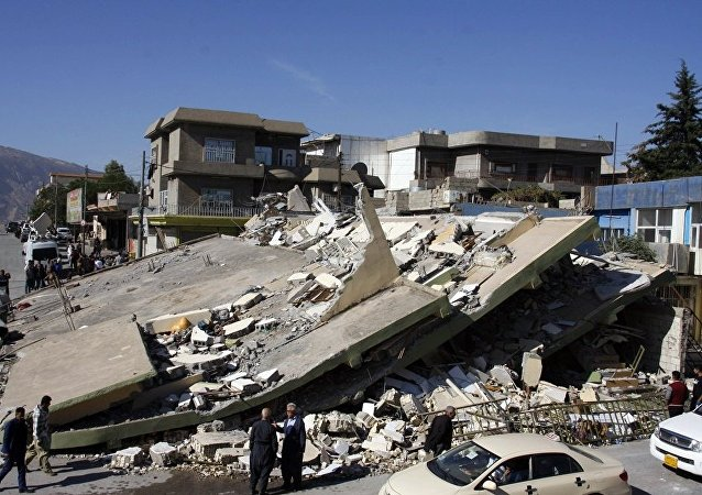 伊拉克與伊朗邊境震區