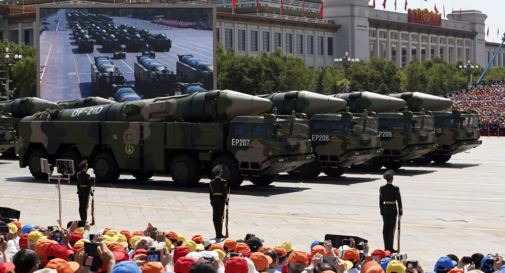 俄专家:中国在特朗普访华前测试东风-41导弹了吗?为什么?