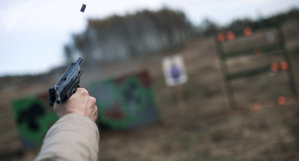 中国保镖将在俄罗斯接受射击训练