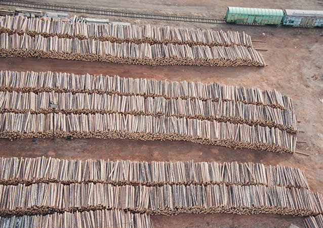 2018年上半年布拉戈维申斯克关区对华木材出口约22万立方米