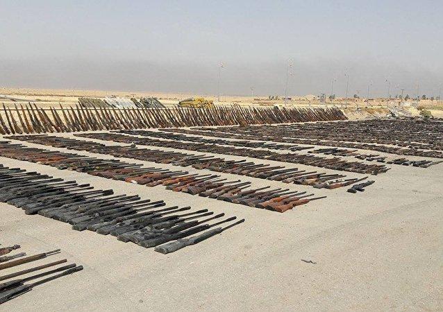 视频:叙利亚军队夺取达伊沙组织的新武器仓库