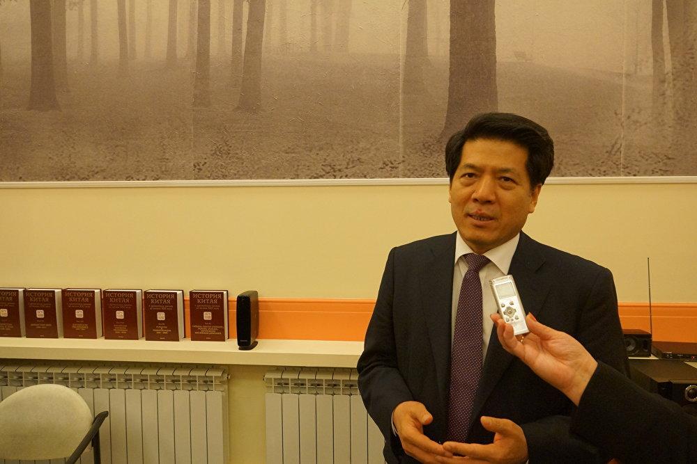 中国驻俄罗斯大使李辉