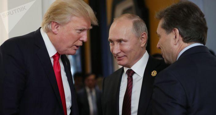 特朗普認為或可與普京建立良好關係