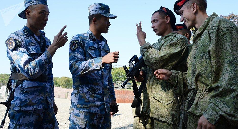 俄中军事演习