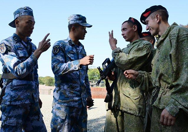 俄中軍事合作