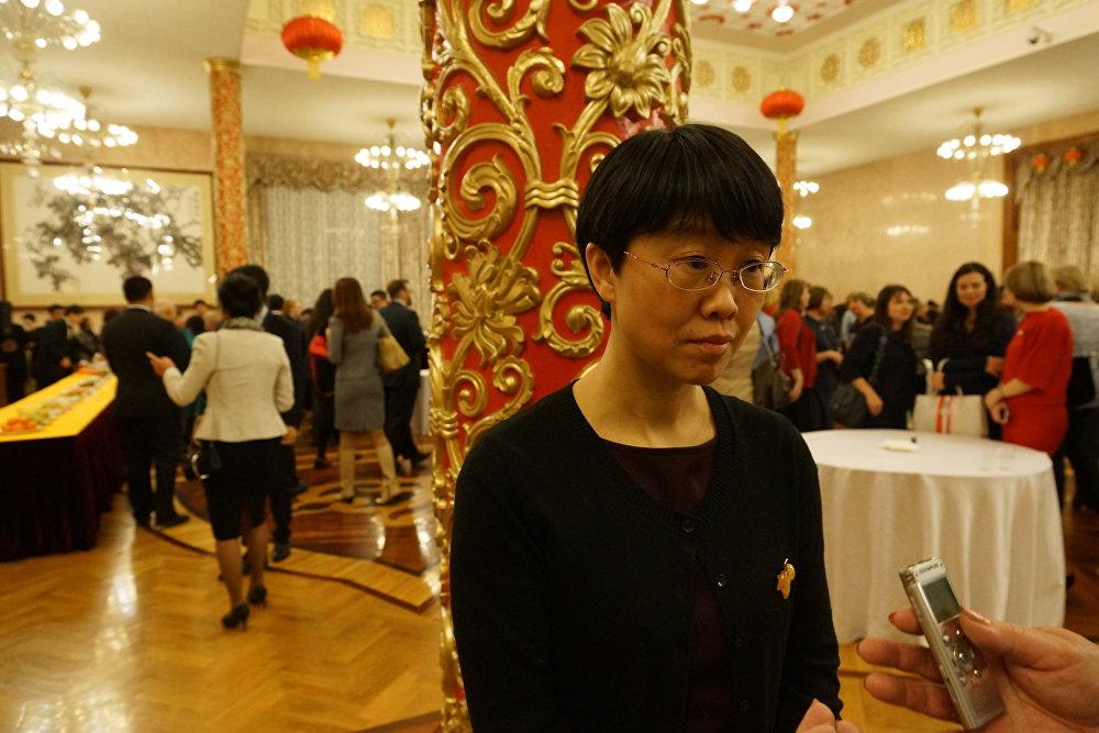 中国驻俄大使馆文化参赞龚佳佳