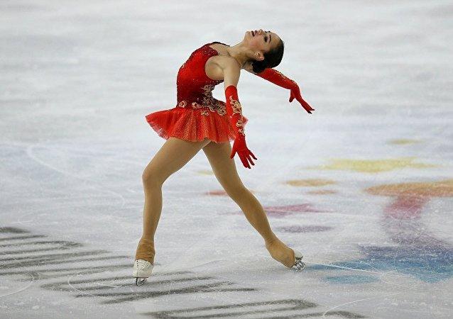 花滑选手扎吉托娃刷新短节目世界纪录