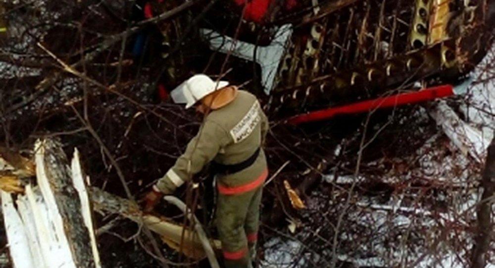 安-2飞机坠毁