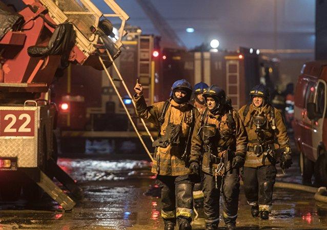 车里雅宾斯克幼儿园因火灾疏散逾100人