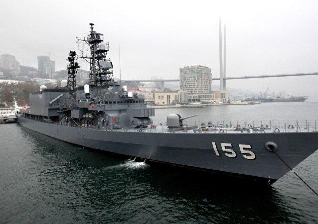 日本海上自衛隊「濱霧」(Hamagiri)號驅逐艦