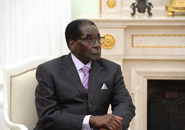 津巴布韋前總統穆加貝