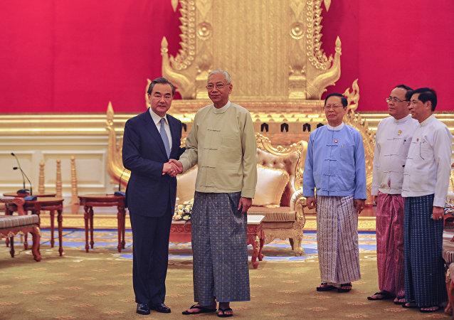 中國呼籲國際社會幫助緬甸解決若開邦貧困問題