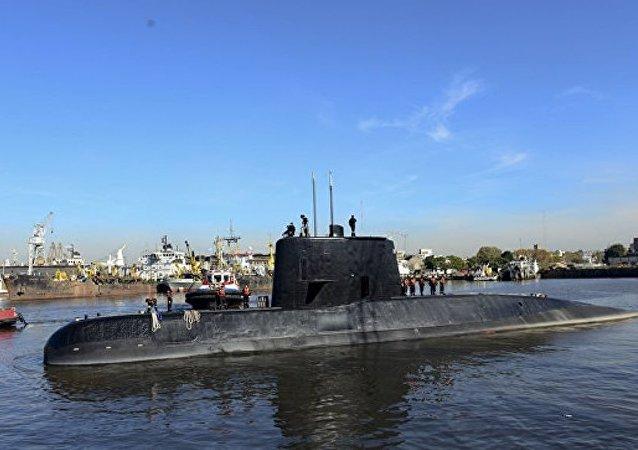 """俄上将:找到阿根廷""""圣胡安号""""潜艇残骸的希望渺茫"""