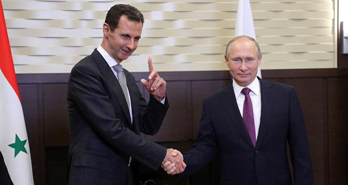 克宮:普京與阿薩德的會談有助於索契峰會取得成功