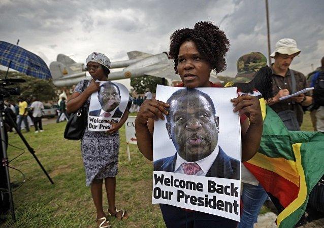 新總統姆南加古瓦