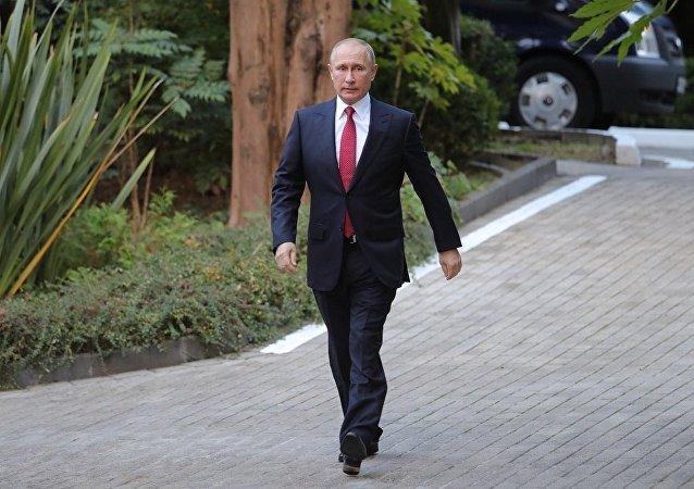 克宫称,普京可能随时公布他参加2018年总统选举的决定