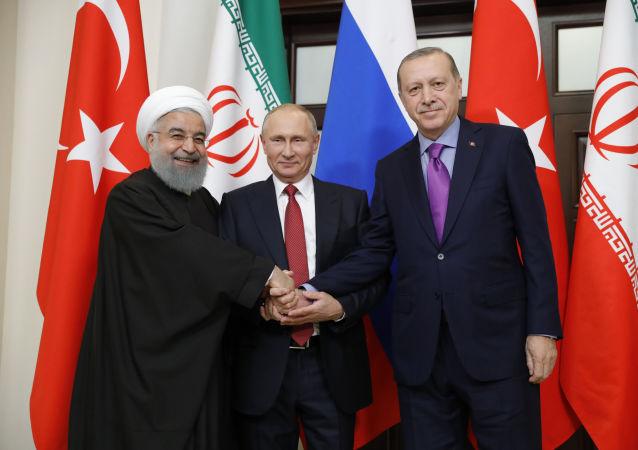 叙利亚国民对话大会邀请名单在正在参考土耳其与伊朗的立场制定