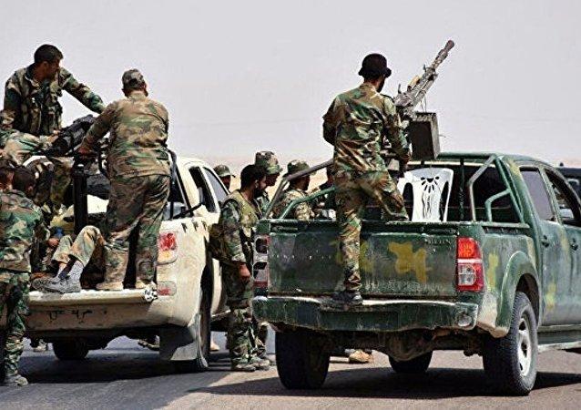敘政府軍聯合「自由軍」及俄空天軍擊退「征服陣線」襲擊