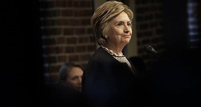 希拉里称奥巴马是造成她竞选失败原因之一