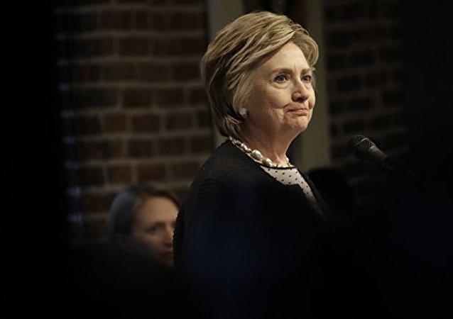 希拉里有可能参加2020年美国总统大选