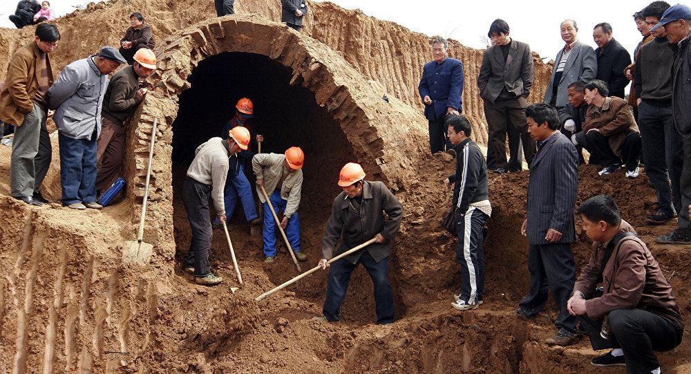考古发掘(资料图片)