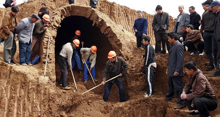 考古發掘(資料圖片)
