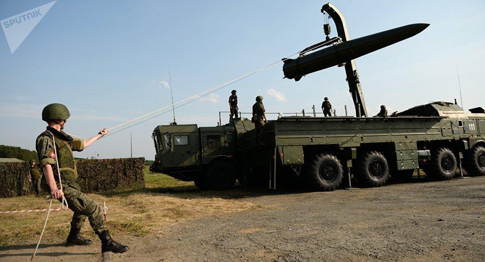 """俄罗斯""""伊斯坎德尔""""战役战术导弹系统"""