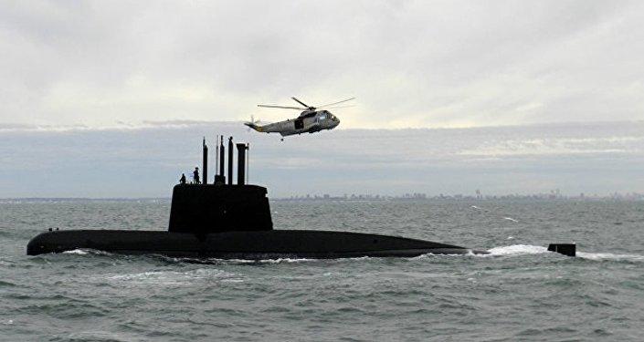 俄救援队赶赴阿根廷协助搜寻失联的圣胡安潜艇
