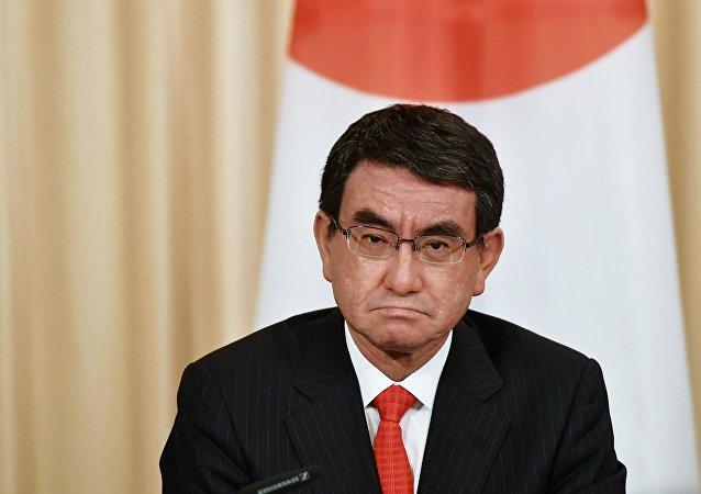 日本外务大臣河野太郎