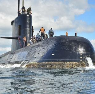 """俄海军恢复搜寻阿根廷海军失踪潜艇""""圣胡安"""""""