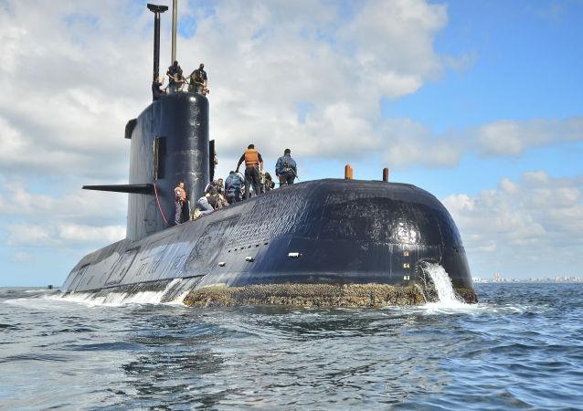 """俄海军上将:找到阿根廷""""圣胡安""""号失联潜艇的几率微乎其微"""