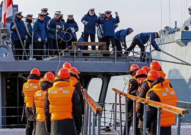 俄日海軍舉行了Sareks-2017演習