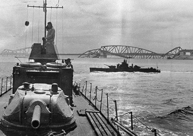 伟大卫国战争期间苏联的装甲炮艇