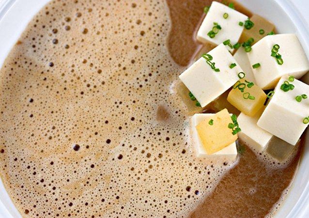 Тофу в бульоне