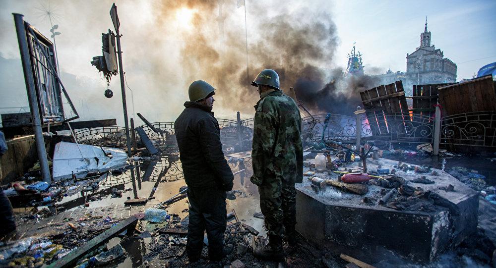 流血和謊言:烏克蘭新政權的誕生