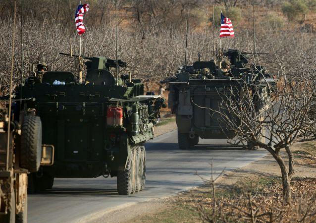 美军在粉碎IS后留在叙利亚让叙国家统一受质疑